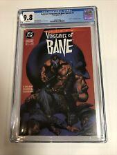 Batman: Vengeance of Bane Special #1 CGC 9.8 DC 1993 1st Bane! M6 388 clean