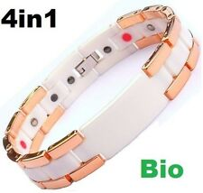 Energy Power Bracelet Health High-Tech Ceramic Armband TUNGSTEN Magnetic Bio