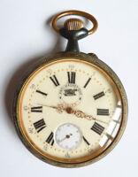Régulateur THALES grosse montre gousset pocket watch 19e siècle fonctionne