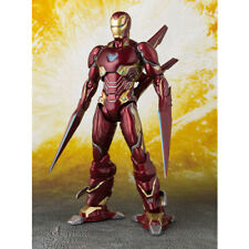 Bandai Tamashii Marvel Avengers Infinity War Iron Man MK-50 Nano Weapon S.H. Action Figure