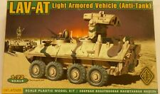 Ace 1/72 LAV-AT U S Army Anti Tank Light Armored Vehicle Model Kit