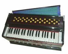 Indian Style Best Harmonium 9 Stopper Chudidaar Bellow 42 Key Two Reed Bass-Male