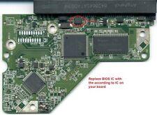 (UNTESTED) PCB BOARD HDD WD3200AAJS-60Z0A0 2060-771590-001 REV P2 88i8846E-TFJ2
