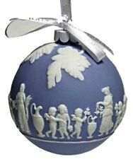 Wedgwood Collection Icon Blue Ornament New In The Box (s)