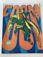 FOOM #12 (1975) 1st Preview Richard Rider Nova and Eternals High Grade Unpressed