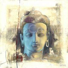 """27""""x27"""" LUMIERE BLEUE by ELVIRA AMRHEIN SPIRITUAL CANVAS"""