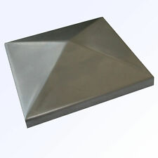 10x Pfostendeckel Abdeckkappe Zierkappe Metall QR50
