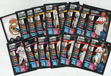 Match Attax 19/20 Champions / Europa League Full Base 16 Cards Set - Real Madrid