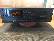 Tascam Cd-A550 Combo Cd Player & Bi-Directional Cassette Record Play w rackmount