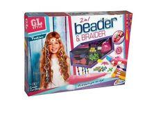 Beader Braider Hair Girls Beading Braiding Set Kids Fun Fashion Toy 2 In 1 Bn