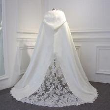 Winter Wedding Bridal Wraps Shawl Capes Long Train Lace Bridal Cloaks Jackets