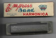 Vintage Empress Brand Harmonica Japan in the box