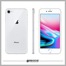 APPLE IPHONE 8 64GB SILBER ( OHNE VERTRAG ) TOP HANDY SMARTPHONE - WIE NEU !