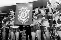 OLD LARGE RUGBY LEAGUE PHOTO, Parramatta Eels 1986 NSWRL Grand Final win 1