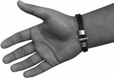 RDX MEN'S Leather Bracciale Mano Braccialetto Polsino Cintura Fashion Jewelry