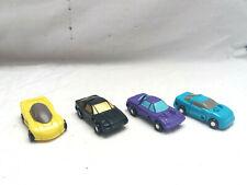 Hasbro Transformers G1 Micromasters Sportwagen 4x Komplet-Team