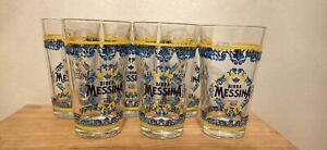 12 bicchieri birra Messina Cristalli di Sale Nuovi Da 0,20 Vintage Collezione