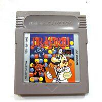 Dr. Mario Nintendo Original GameBoy - Tested - Working - Authentic!