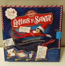 The Elf On The Shelf- Scout Elf Express Delivers - Letters To Santa Brand New
