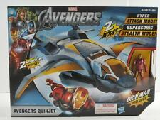 Hasbro Marvel Avengers Quinjet 2 Modes w/ Iron Man Action Figure