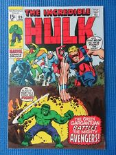 INCREDIBLE HULK # 128 - (VF/NM) - HULK VS THE AVENGERS - BLACK PANTHER, VISION