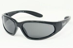 UV400 Motorcycle Sunglasses/Category 3 Unbreakable Biker Antifog Glasses + Pouch