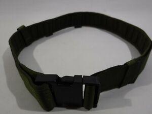 Ex British Army Olive Green PLCE Webbing Belt Cadet Fancy Dress Military Surplus