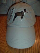 PIT BULL TERRIER  BASEBALL CAP -  BY GR8 DOGS