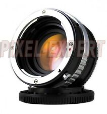 ANELLO ADATTATORE PIXCO PER NIKON G SONY NEX SPEED BOOSTER ADAPTER RING E-MOUNT