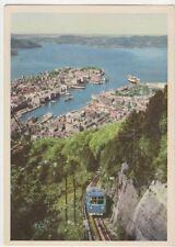 Bergen Floibanen Norway Postcard 035b