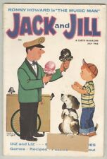 Jack and Jill #162 VG+ 1962 Ice-Cream Cover, Music Man 4 Pages, 9 Pics