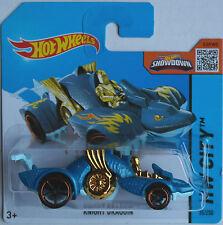 HOT Wheels-Knight Draggin blaumet./Blu Chiaro Nuovo/Scatola Originale