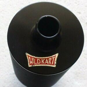 "Wild Kart Inline Water Heat Radiator 17mm / 5/8"" Hose - Black Aluminum"