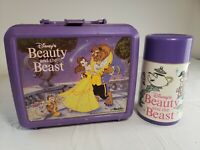 Vintage Disney Beauty and the Beast Lunch Box & Thermos - Aladdin
