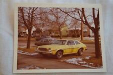 Vintage Car Photo circa 1978 Mercury Bobcat in YELLHELLO Color 863