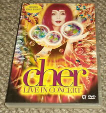 CHER – LIVE IN CONCERT - DVD - REGION-4