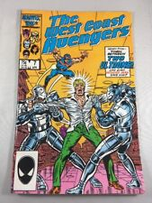 West Coast Avengers #7 April 1986 Marvel Comics Steve Englehart Ultron