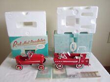 Vintage Hallmark Kiddie Car Classics Lot Pedal '40 Gendron Roadster Fire Truck