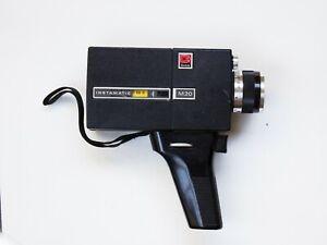 Kodak Movie Camera Instamatic M20 Vintage Zoom Lens Control Super 8 Handle