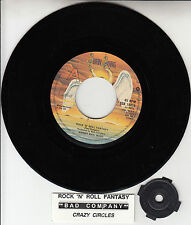 "BAD COMPANY  Rock 'N' Roll Fantasy 7"" 45 record + juke box title strip NEW RARE!"