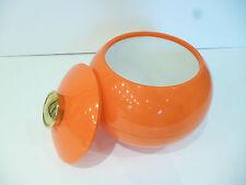 ♦ Ancien Bac A Glaçons Orange Vintage Authentique