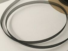 "Black Narrow Horsehair Braid Trim Crinoline Trim  5mm ( 3/16"" )  10 yds #MHB93"