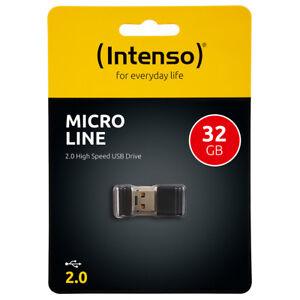 kQ Intenso Micro Line 32GB USB Stick mini USB 2.0 flash drive 32 GB Speicher