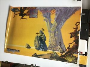 "Yes ""yesyears"" 1991 2-sided Original PROMO POSTER Roger Dean. 24"" x 36"""
