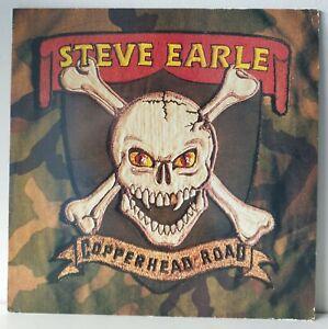 Steve Earle - Copperhead Road - 1988 UK LP Vinyl Album - MCA Records MCF 3426