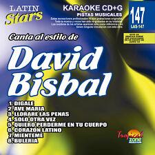 Karaoke Latin Stars 147 David Bisbal Vol.1