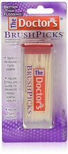 The Doctors Brushpicks Interdental Toothpicks 120 Count