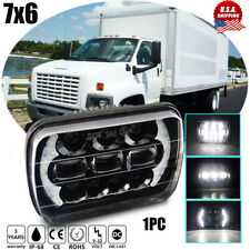 5X7 7X6 LED Headlight Sealed High Low Beam fit for GMC TopKick C6500 C5500 Truck