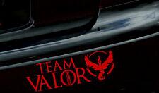 "8"" Team Valor Vinyl car window bumper sticker/decal Pokemon Go Mystic Instinct"
