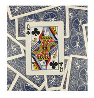One Way Forcing Deck for Magic Tricks, Blue Queen of Clubs